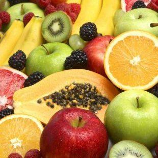 variedad frutas frescas de proximidad