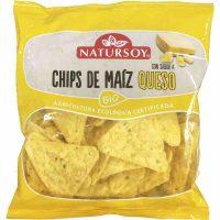 chips maiz queso